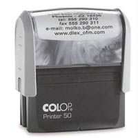 COLOP P50 PRINTER SELF-INKING CUSTOM MADE STAMP 69 X 30MM