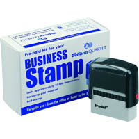 TRODAT 4913 BUSINESS STAMP KIT 21 X 57MM