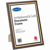 Timber Style Document and Certificate Frames