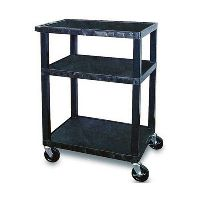 TUFFY UTILITY TROLLEY 3 SHELF 860MM