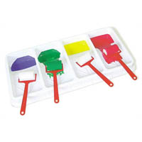 EDUCATIONAL COLOURS FOUR BAY ROLLER TRAY