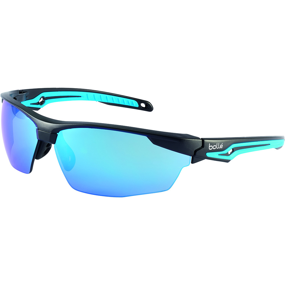 a8e20843fec Bolle Safety Tryon Safety Glasses Blue Flash Lens