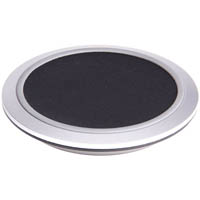 LASER FAST CHARGE QI WIRELESS CHARGER SILVER/BLACK