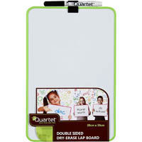 Quartet Double Sided Lap Board Magnetic Dry Erase//Marker//Office Assorted Colour