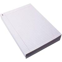 QUILL LOOSE LEAF EXAM PAPER RULED WITH ONE HOLE 60GSM A4 PACK 500