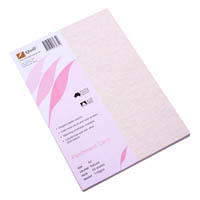QUILL PARCHMENT CARD 176GSM A4 NATURAL PACK 50