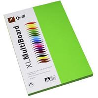 QUILL COLOURED A4 COPY PAPER 80GSM LIME PACK 100 SHEETS