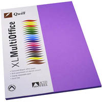 QUILL COLOURED COPY PAPER 80GSM A4 LILAC PACK 100 SHEETS