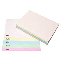QUILL XL MULTIOFFICE COLOURED A4 COPY PAPER 80GSM PASTEL ASSORTED PACK 500 SHEETS