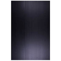 QUILL PP SIGN BOARD 5MM 500 X 770 BLACK