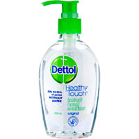 DETTOL HEALTHY TOUCH ANTI-BACTERIAL INSTANT LIQUID HAND SANITISER 200ML
