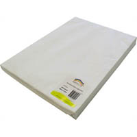 RAINBOW EASEL PAPER 380 X 510MM WHITE PACK 500