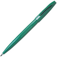 PENTEL S520 SIGN PEN MEDIUM 0.8MM GREEN
