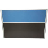 RAPID SCREEN SCREEN 1500 X 1250MM LIGHT BLUE