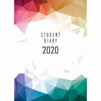 COLLINS 2020 COLPLAN STUDENT DIARY CASEBOUND BOARD COVER A5