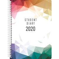 COLLINS 2020 COLPLAN STUDENT DIARY WEEK TO VIEW SPIRAL BOUND A5
