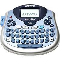 DYMO LETRATAG 100T LABEL MAKER HANDHELD PERSONAL BLUE