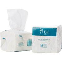 LIVI ESSENTIALS INTERLEAVED TOILET TISSUE 2 PLY 250 SHEET CARTON 36