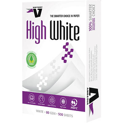 VICTORY A3 HIGH WHITE COPY PAPER 80GSM WHITE PACK 500 SHEETS