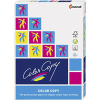 MONDI COLOR COPY A3 COPY PAPER COATED SILK 200GSM WHITE PACK 250 SHEETS