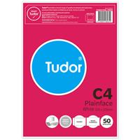 TUDOR C4 ENVELOPES POCKET PLAINFACE STRIP SEAL 135GSM 324 X 229MM WHITE PACK 50