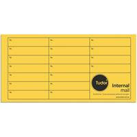 TUDOR DL ENVELOPES INTEROFFICE POCKET 110 X 220MM GOLD BOX 500