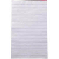 OLYMPIC WRITING PAD RULED 100 PAGE 50GSM FOOLSCAP WHITE