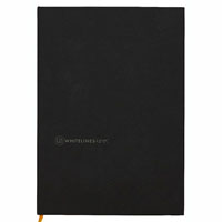 WHITELINES BLACK OCEAN NOTEBOOK 160 PAGE A5