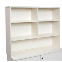 RAPID VIBE HUTCH 1200 X 315 X 1070MM WHITE