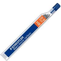 STAEDTLER 250 MARS MICRO CARBON MECHANICAL PENCIL LEADS HB 0.9MM TUBE 12