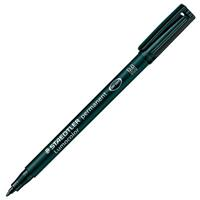STAEDTLER 317 LUMOCOLOR PERMANENT MARKER 1.0MM BLACK
