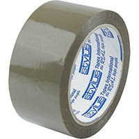 VIBAC PP30 PACKAGING TAPE 48MM X 75M BROWN