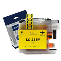 COMPATIBLE BROTHER LC235XLY INK CARTRIDGE HIGH YIELD YELLOW