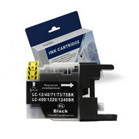 COMPATIBLE BROTHER LC73BK INK CARTRIDGE HIGH YIELD BLACK