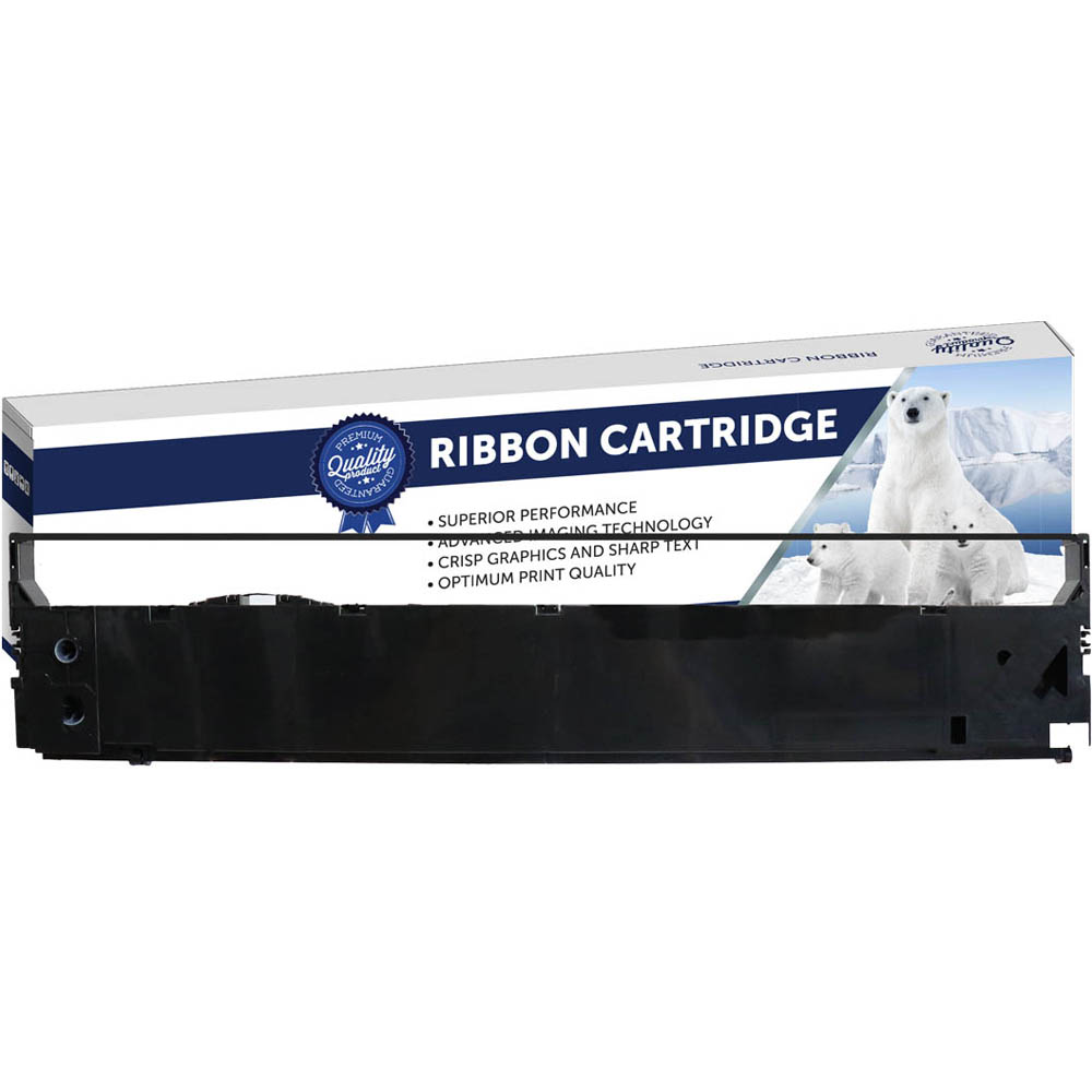 Image for COMPATIBLE EPSON C13S015384 PRINTER RIBBON BLACK from The Paper Bahn Office National