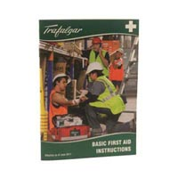 TRAFALGAR FIRST AID BOOKLET