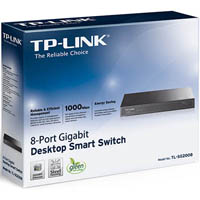 TP-LINK TL-SG2008 8-PORT GIGABIT SMART SWITCH