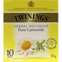 TWININGS TEABAGS CAMOMILE PACK 10