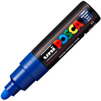 UNI PC-7M POSCA POSTER MARKER MEDIUM BULLET TIP 4.5MM BLUE