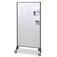 VISIONCHART COMMUNICATE ROOM DIVIDER DOUBLE SIDED WHITEBOARD 1820 X 950MM