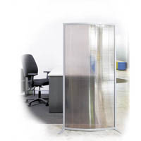 VISIONCHART MODULAR WAVE SCREEN CURVED 800 X 400 X 1600MM