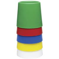 EDUCATIONAL COLOURS SIZE 5 WATER POT SET OF 5