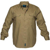 PRIME MOVER MS903 COTTON DRILL SHIRT