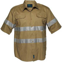 PRIME MOVER MA909 COTTON SHIRT WITH TAPE