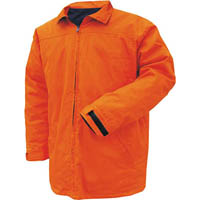 PRIME MOVER MJ288 COTTON DRILL JACKET DAY/NIGHT WITH ZIP CLOSURE