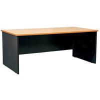 OXLEY DESK 1800 X 900 X 730MM BEECH/IRONSTONE